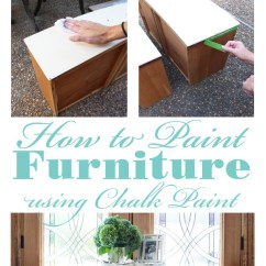Slipcover For Armless Chair Reading Bedroom Sewing Stool Redo & Chalk Paint Recipe Revealed