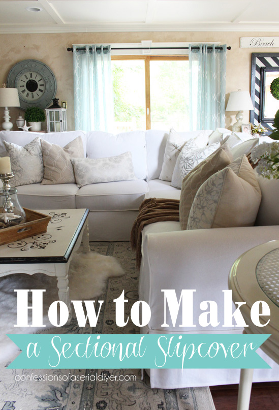 how to make a slipcover for sofa chile vs mexico sofascore sectional step by with confessions of