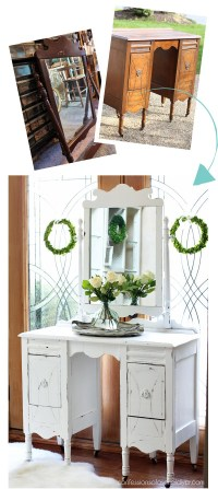 Antique Dressing Table Makeover | Confessions of a Serial ...
