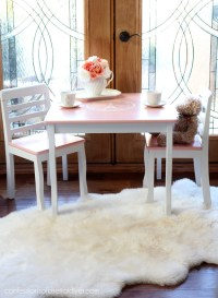 French-Inspired Girl's Table and Chair Set | Confessions ...