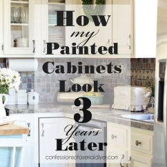 Can I Paint My Kitchen Cabinets Corian Countertops Painted Three Years Later