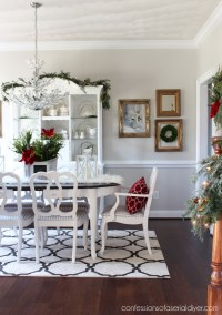 Christmas in the Dining Room (& Table and Chairs Updated ...