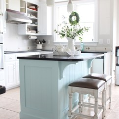 Beadboard Kitchen Island Pop Up Outlet Makeover With How To Add