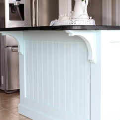 Beadboard Kitchen Island Wayfair Cabinets Makeover With How To Add