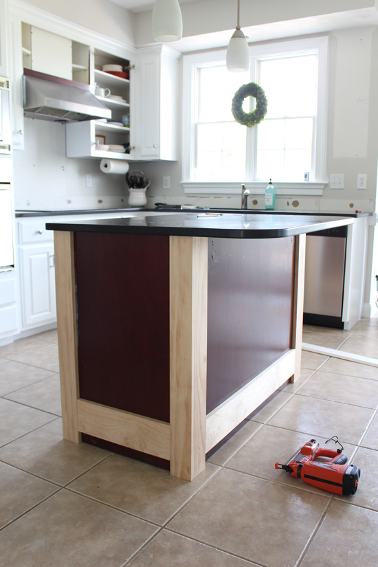 beadboard kitchen island ikea countertop makeover with how to add