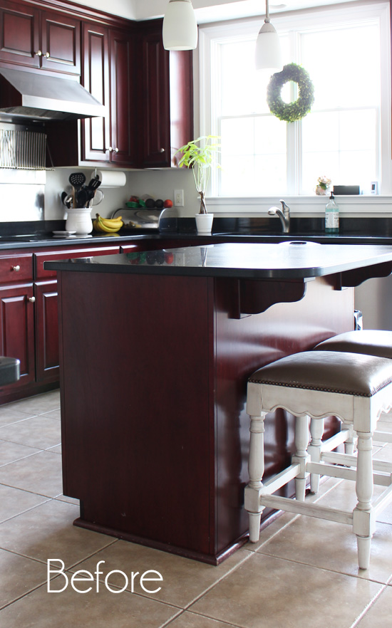beadboard kitchen island magazine kitchens makeover with a humble little worker bee
