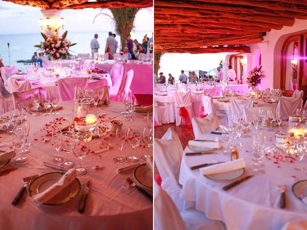 Think Pink  Donna  Pauls Real Wedding Abroad By Ibiza Wedding Shop  Confetticouk