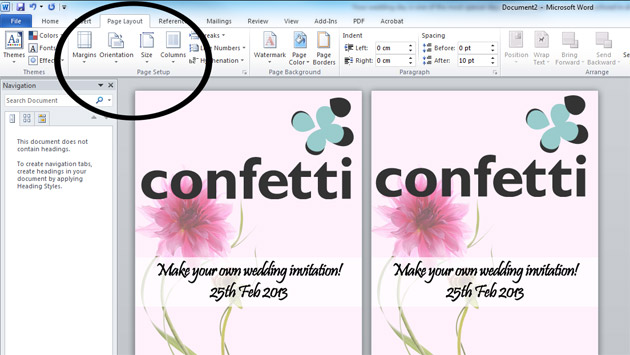 Make And Print Invitations