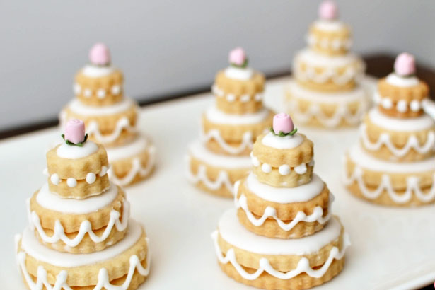 The Biscuit Wedding Cake