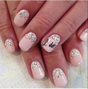 bridal nail art inspiration -manicures