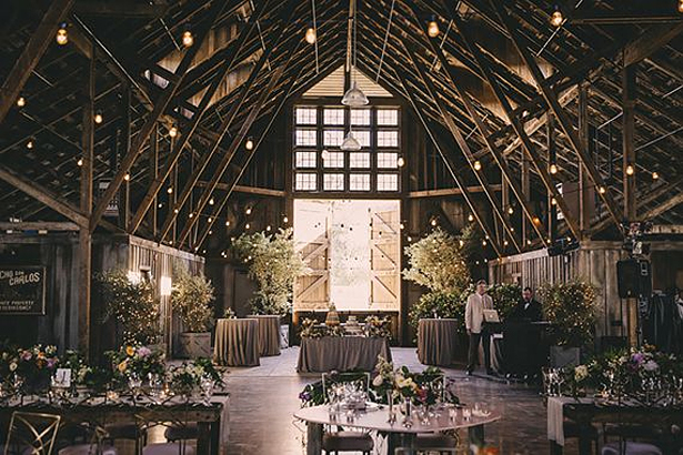How To Style A Barn Wedding