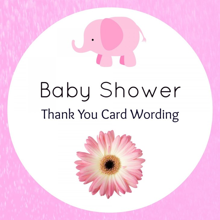 Baby Shower Thank You Wording – Hostess