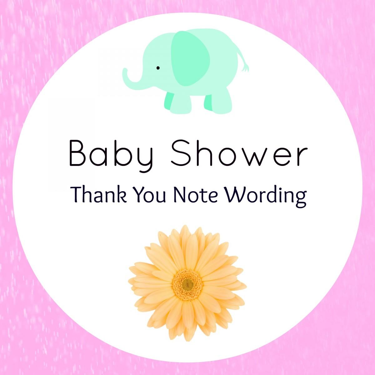 Baby Shower Thank You Wording – Handmade Gift