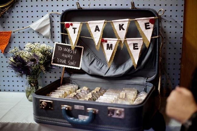 Cute And Shiny Diy Wedding Favor Glitter Confetti Bags