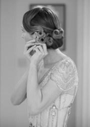 vintage bridal hair & make tips