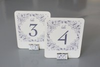 20 DIY Wedding Table Number Ideas to Obsess Over