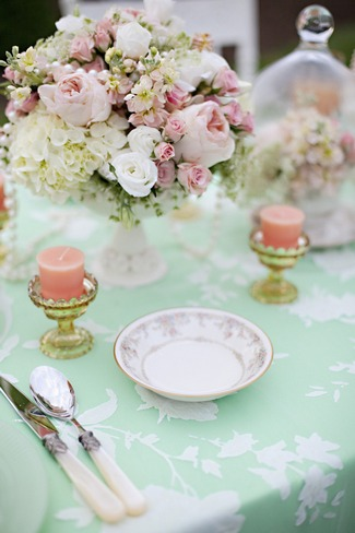 Mint Green Wedding Decor Ideas