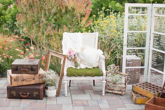 & Rustic Garden Wedding In California