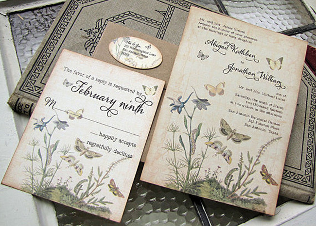 Wedding Invitations Vintage And Get Inspiration To Create The Invitation Design Of Your Dreams 8