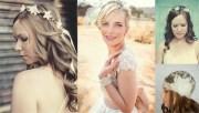 bridal wedding hairstyles outdoor