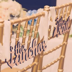 Wedding Chair Covers For Bride And Groom Fruitwood Folding Chairs 10 Adorable Signs Decor 11