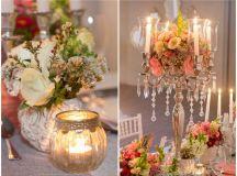 Elegant Vintage Wedding Ideas in Peach & Silver {Josie ...
