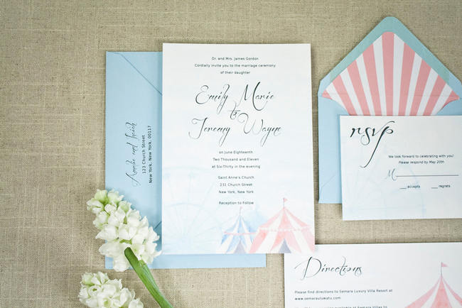 Geous Watercolor Wedding Invitations 4