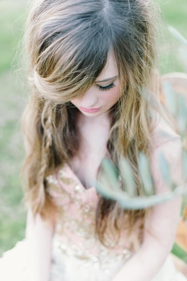 Rapunzel Inspired Long Hair Styles for Spring Weddings // Debbie Lourens Photography // Paramithi flowers // Fringe Hair and Make-up // Alana van Heerden Dresses