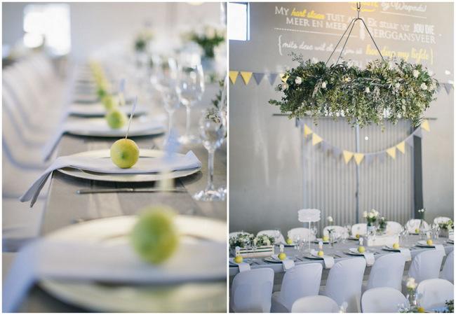 Beautiful Grey And Yellow Winter Wedding Jenni Elizabeth