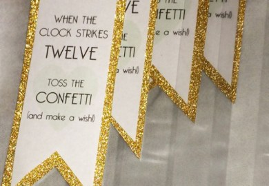 16 Diy New Years Eve Party Amp Wedding Ideas Gold And Glitter