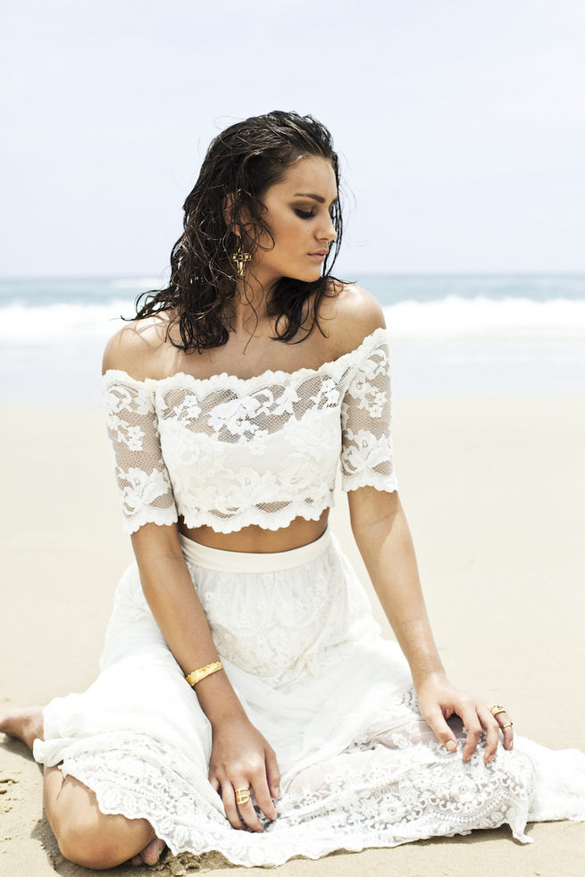 Ethereal Beach Wedding Dresses Grace Loves Lace