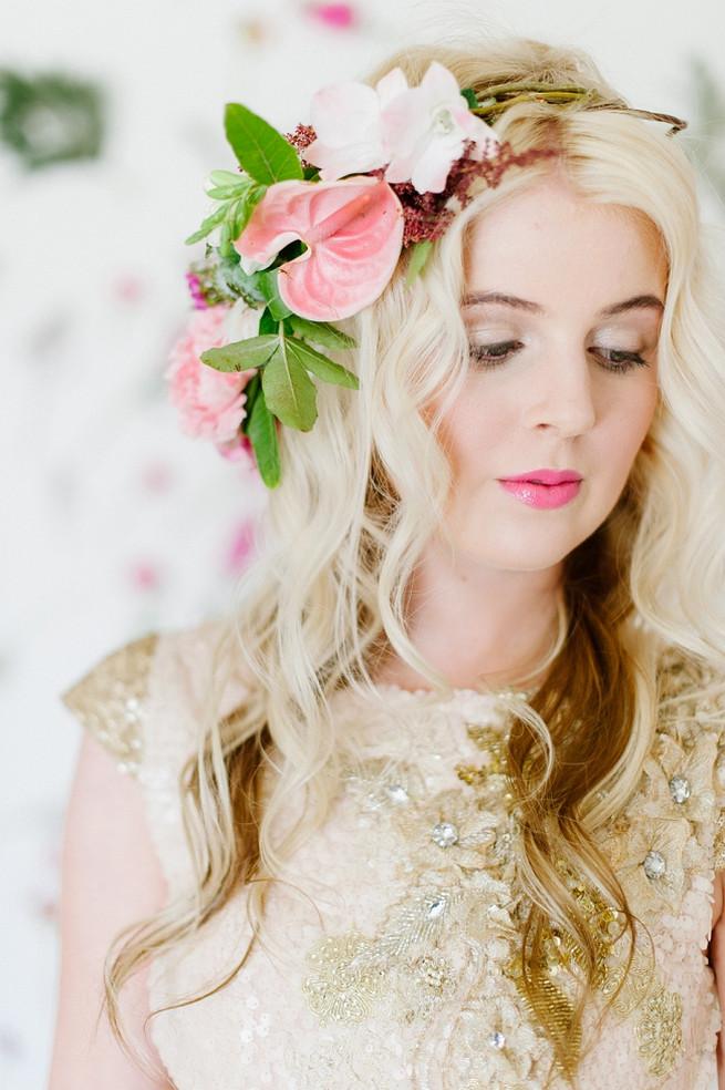 Soft Pink and Gold Wedding Dress Inspiration Debbie