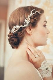 2015 vintage wedding hair accessories