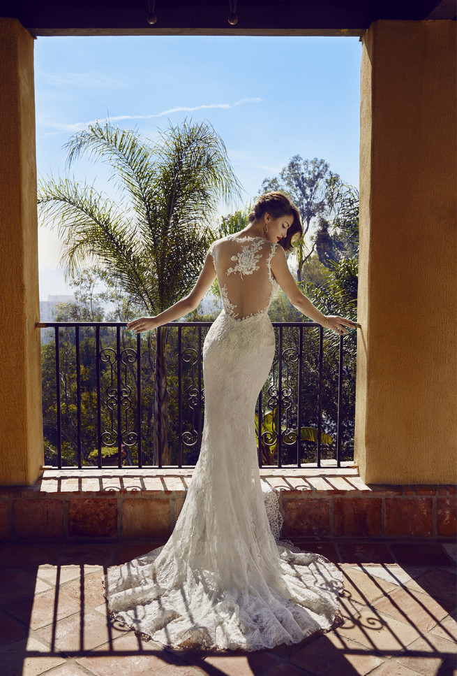 Old Hollywood Glam Wedding BHLDN 2015