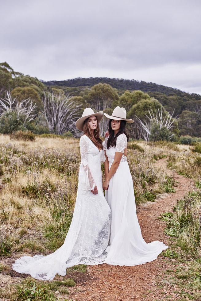 romantic country wedding dresses untamed romance � bridal