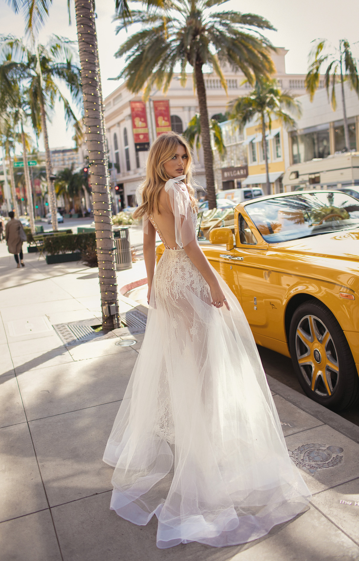 Sheer Perfection BERTAs 2019 City of Angels Wedding Dress Collection