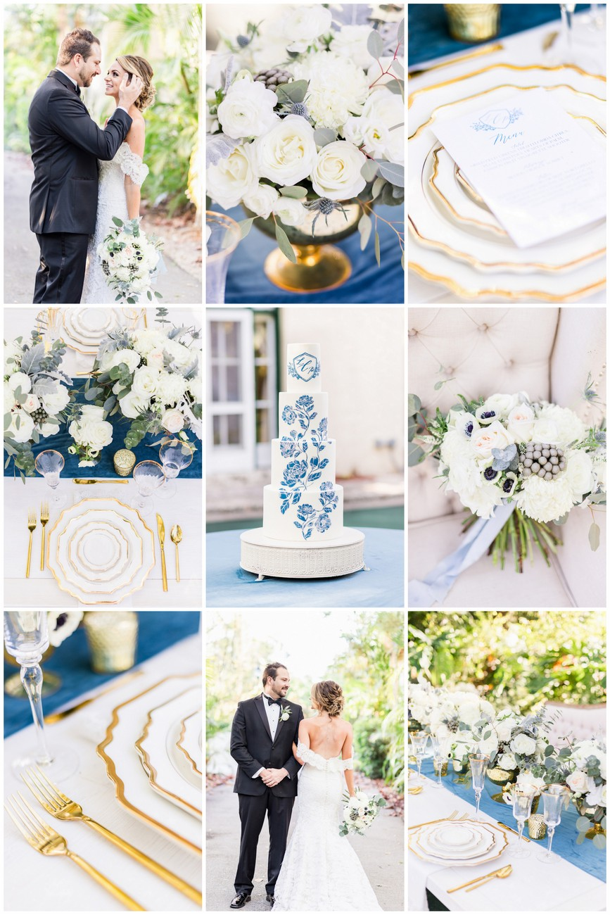 Dreamy Dusty Blue Gold Wedding Ideas You Need To See