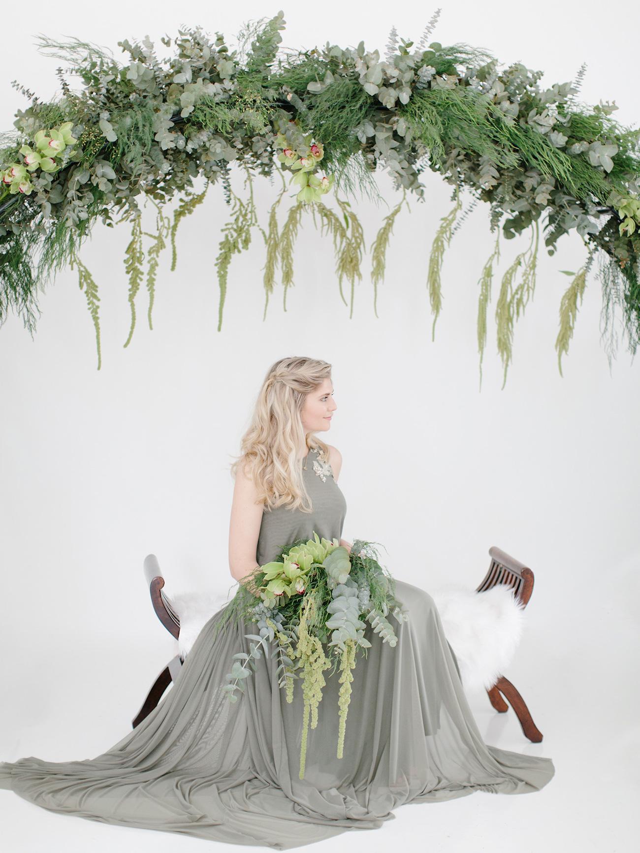 Understated Elegance Get Olive Green and Ivory Wedding