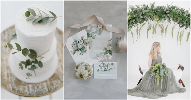 Olive Green And Silver Wedding Decor Why Santa Claus