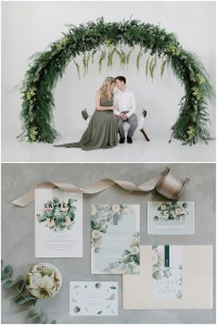 olive green and ivory wedding ideas 4