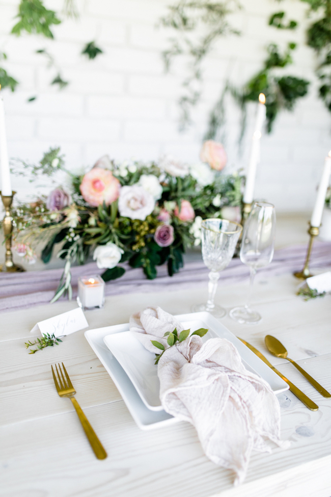 Decor  Details Gold Mauve and Blush Pink Wedding Ryann Lindsey