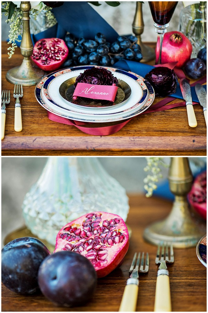 MustSee Romantic Burgundy Red and Navy Blue Wedding Ideas
