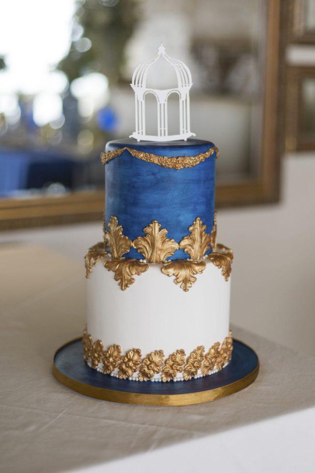 Wedding Cake Designs Royal Blue And Gold Why Santa Claus