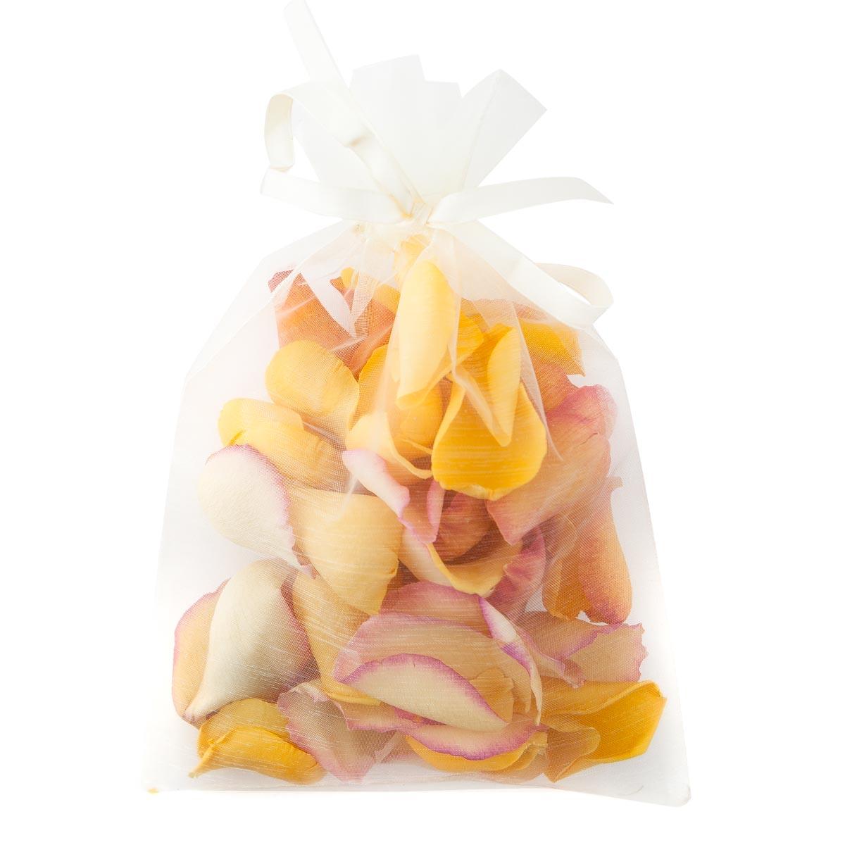 Large Natural Rose Petals - 10 Handful Bag