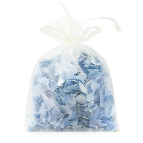 Dusky Blue Hydrangea Petals - 10 Handful Bag