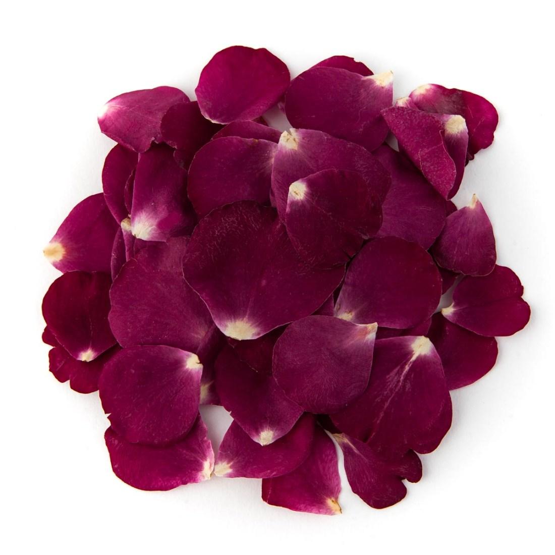 Merlot Small Natural Rose Petal