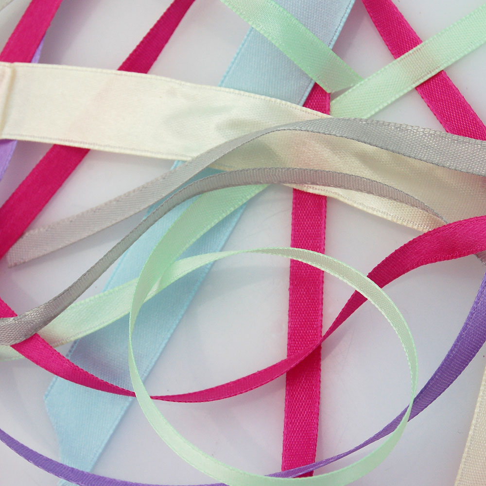 ribbons wedding ribbon real flower petal confetti company