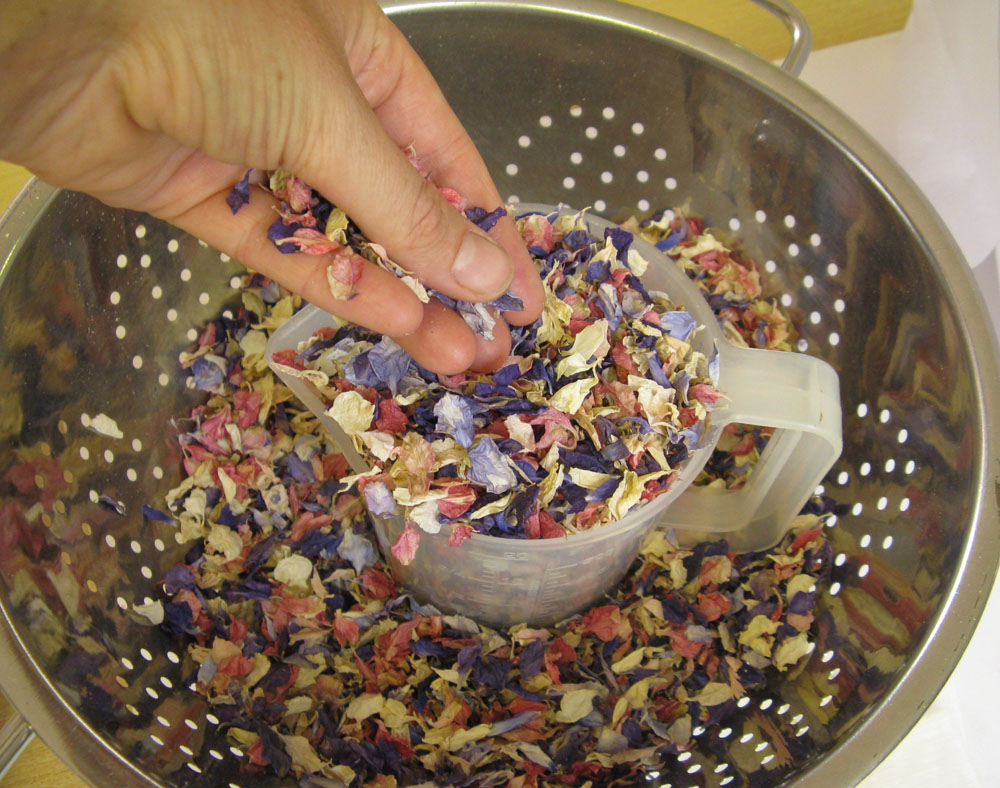 Biodegradable Confetti Petals - mixed to your requirements