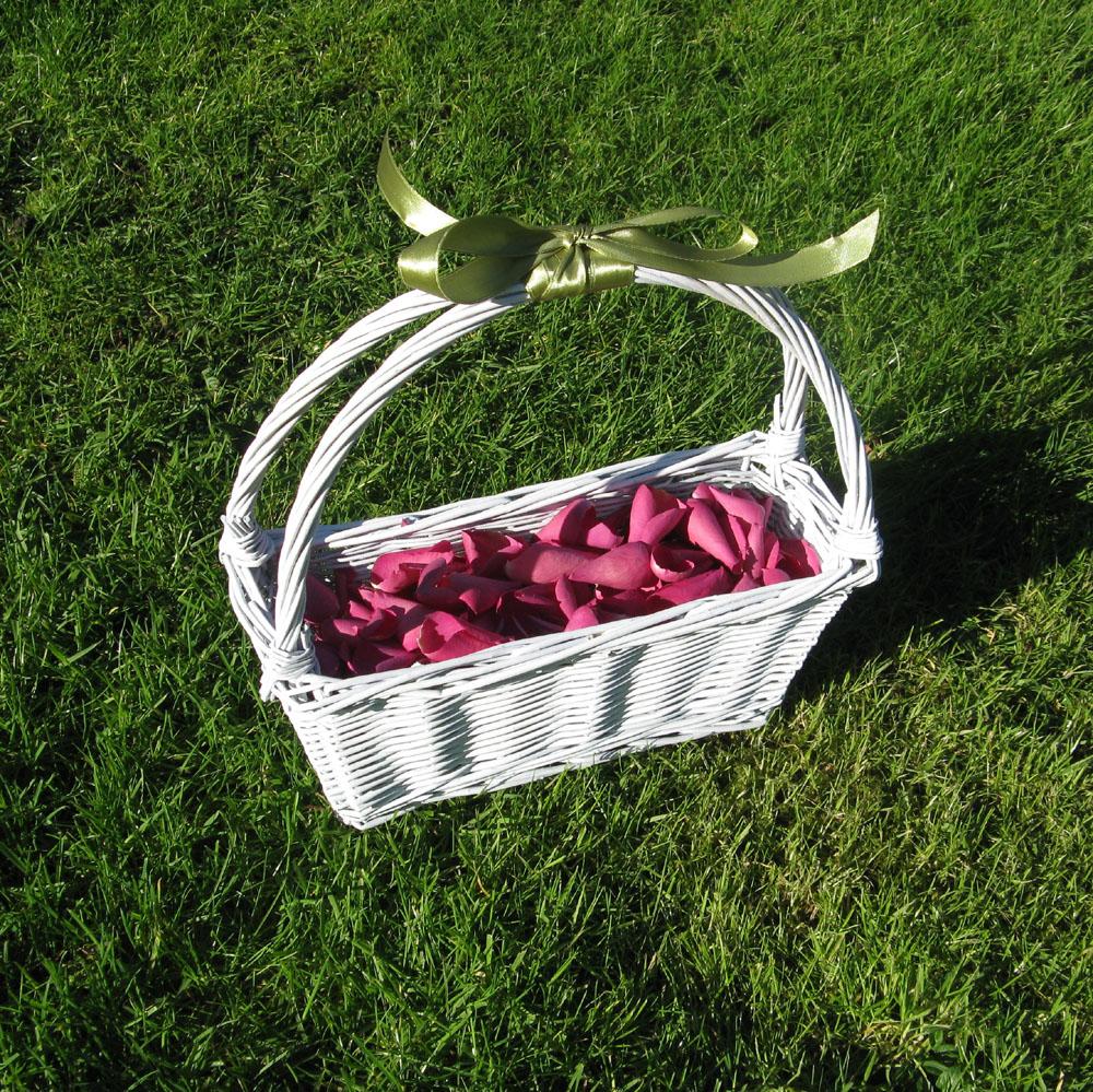Rose Petals - basket of cerise petals
