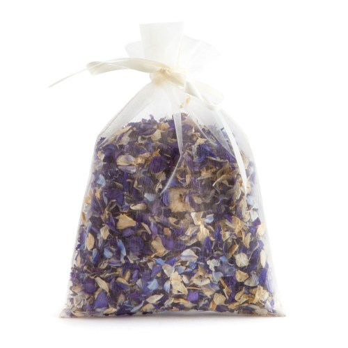 Blue Mix - 10 Handful Bag - Biodegradable Confetti - Real Flower Petal Confetti